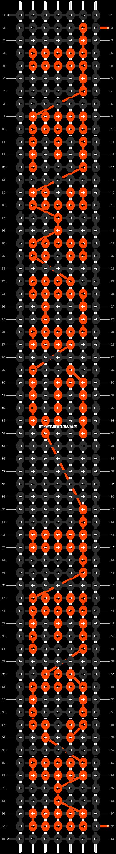 Alpha pattern #6495 pattern