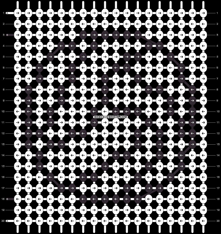 Alpha pattern #6500 pattern