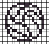 Alpha pattern #6500