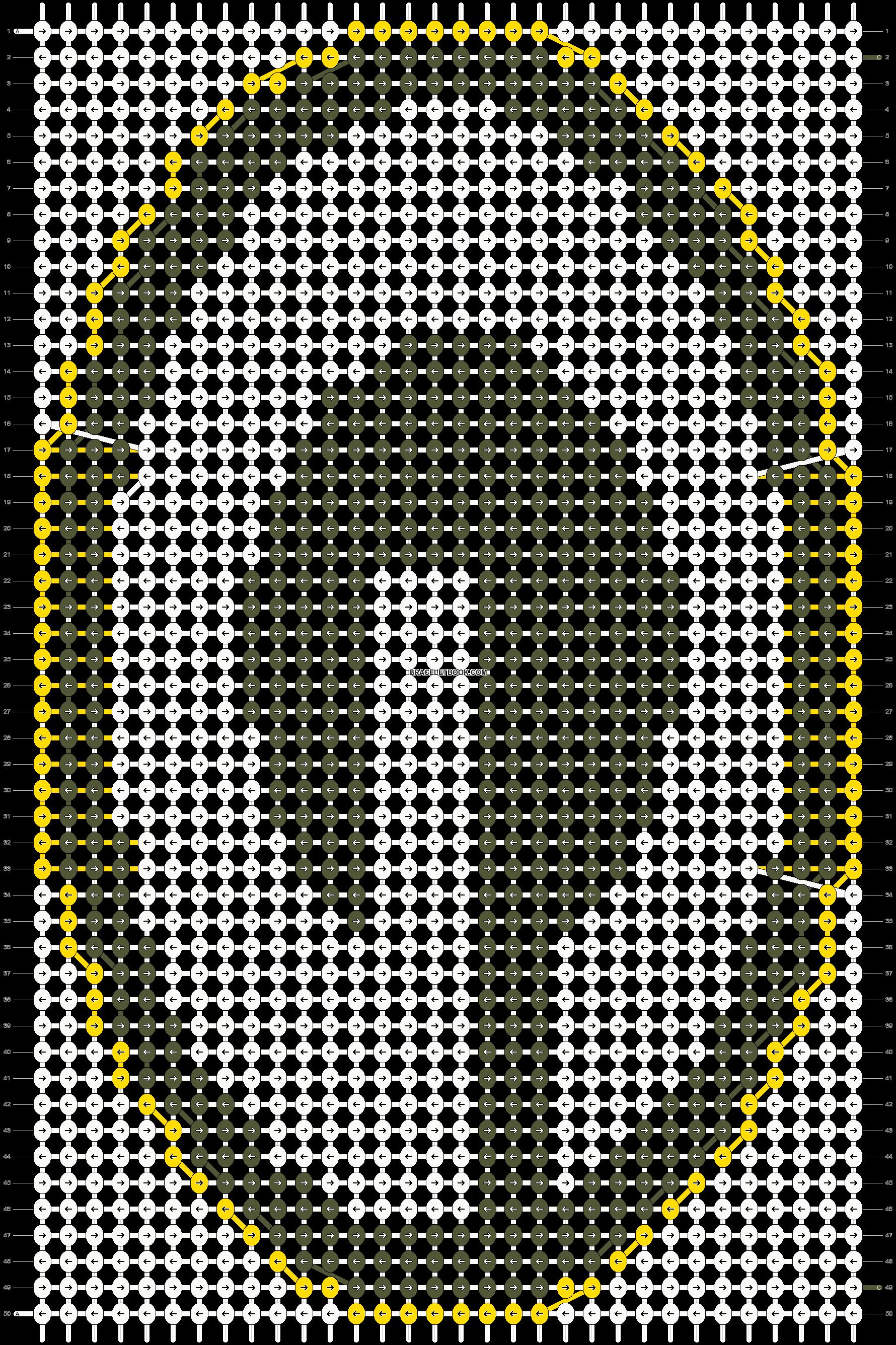 Alpha pattern #6505 pattern