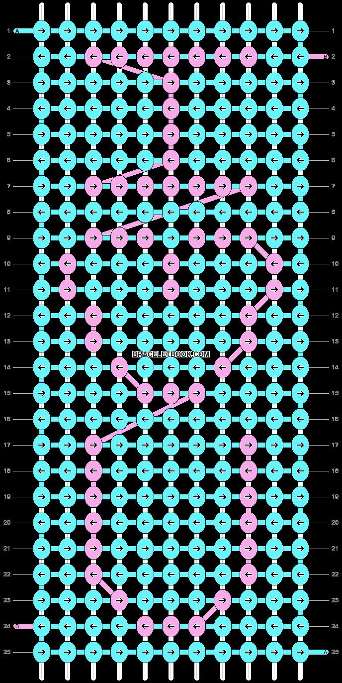 Alpha pattern #6512 pattern