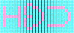 Alpha pattern #6512
