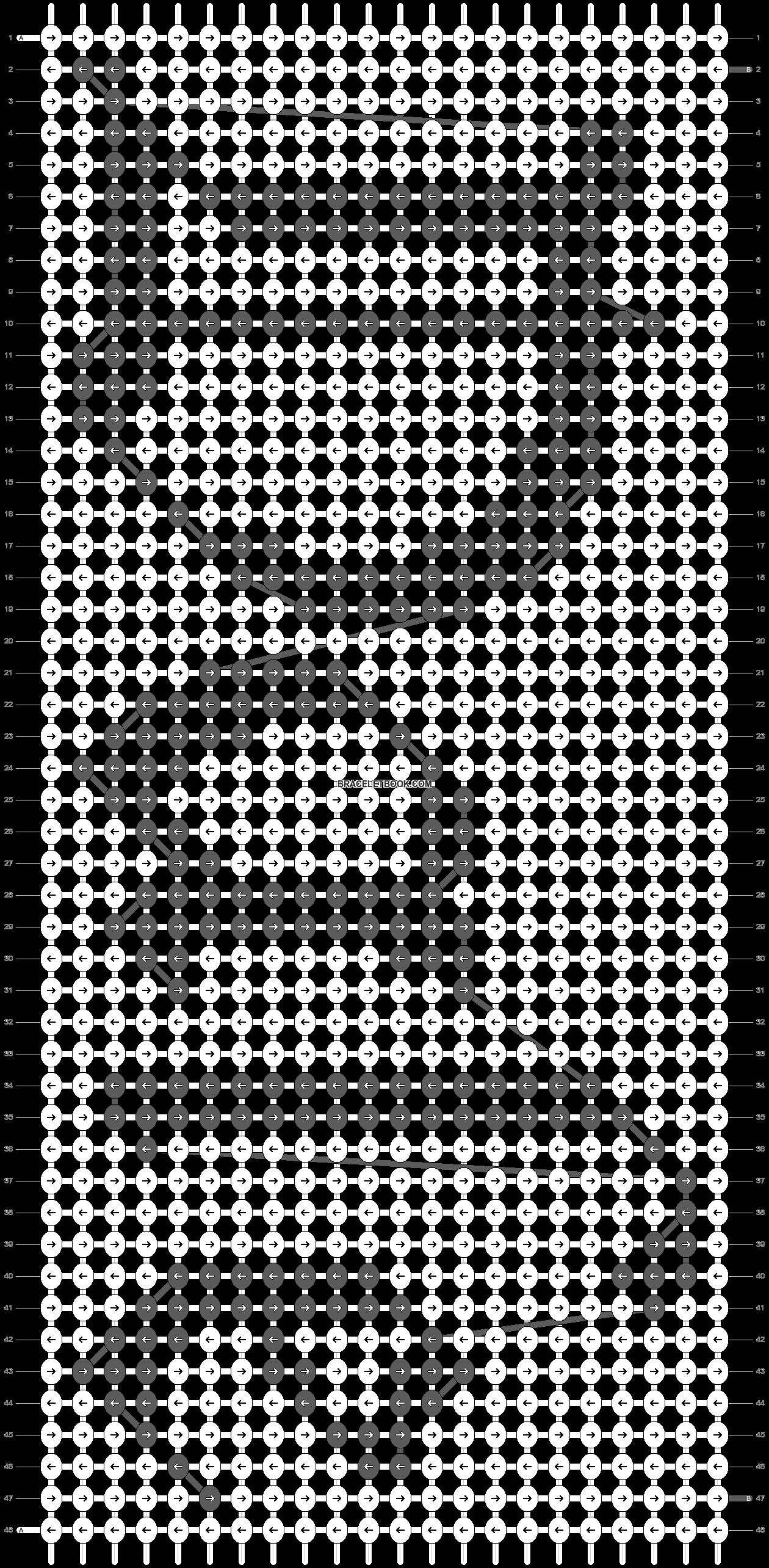 Alpha pattern #6518 pattern