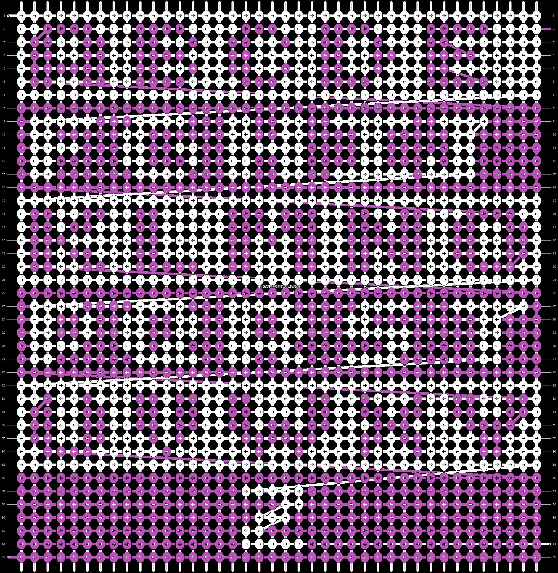 Alpha pattern #6523 pattern