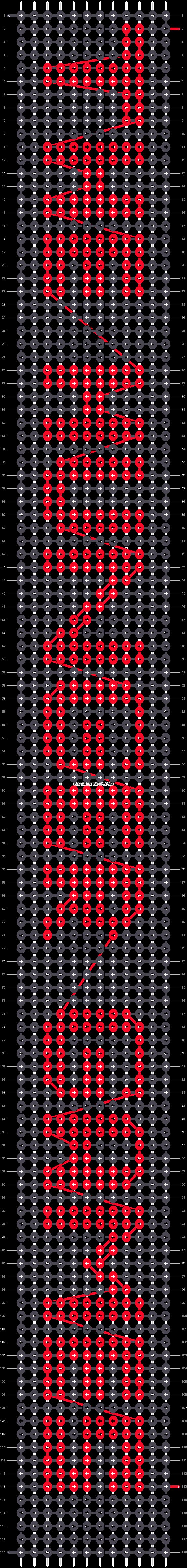 Alpha pattern #6530 pattern