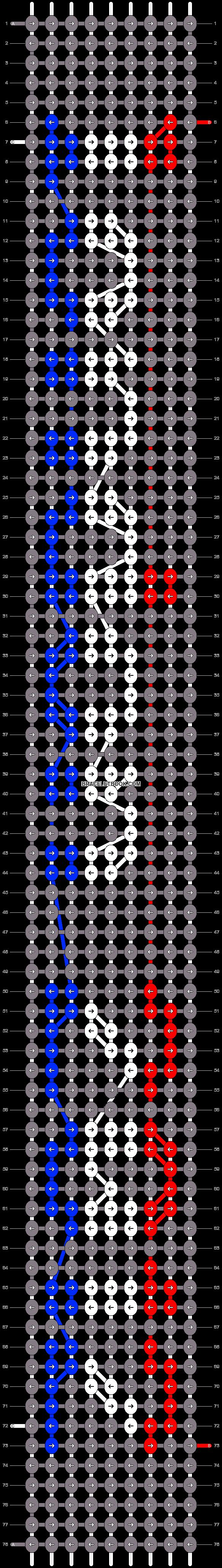 Alpha pattern #6535 pattern
