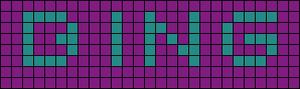 Alpha pattern #6540