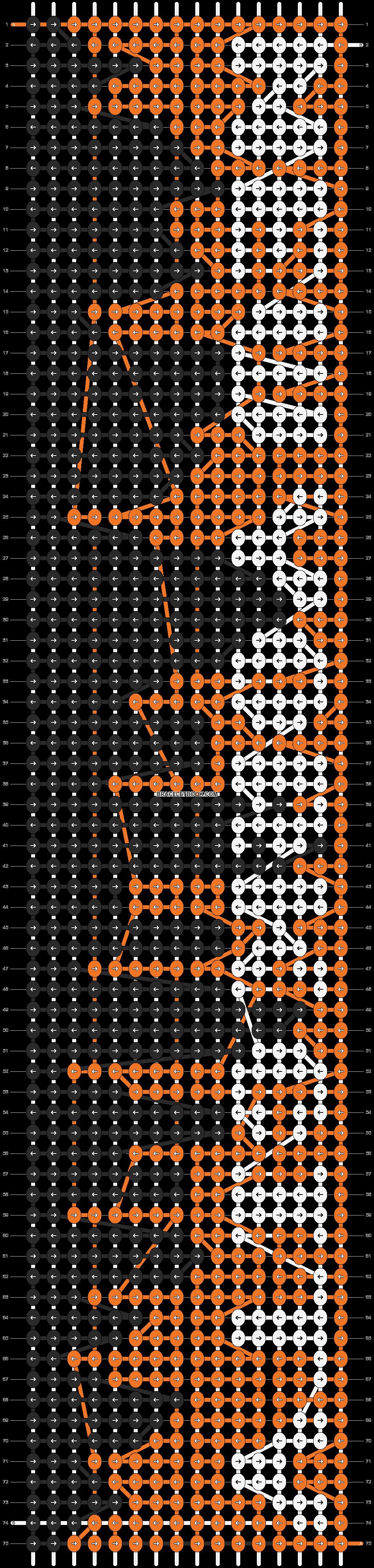Alpha pattern #6545 pattern
