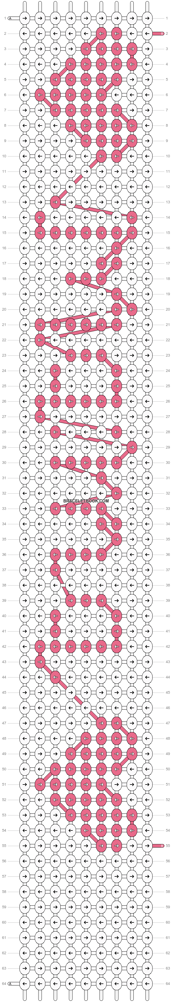 Alpha pattern #6547 pattern