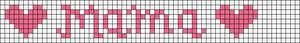 Alpha Friendship Bracelet Pattern #6547