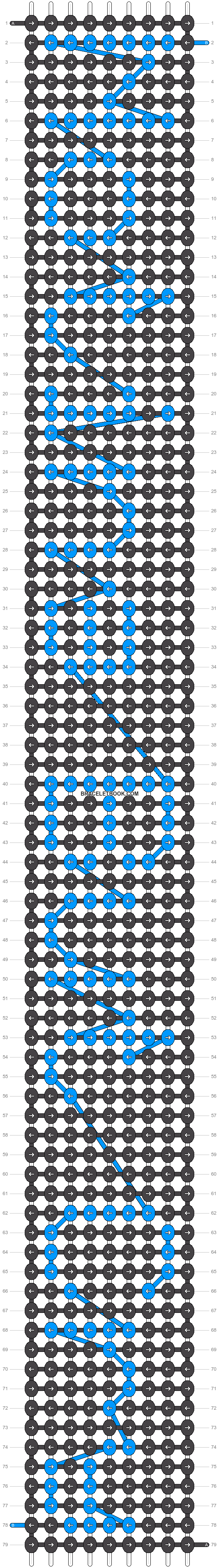 Alpha pattern #6548 pattern