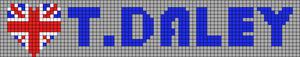 Alpha Friendship Bracelet Pattern #6558