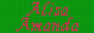 Alpha pattern #6561