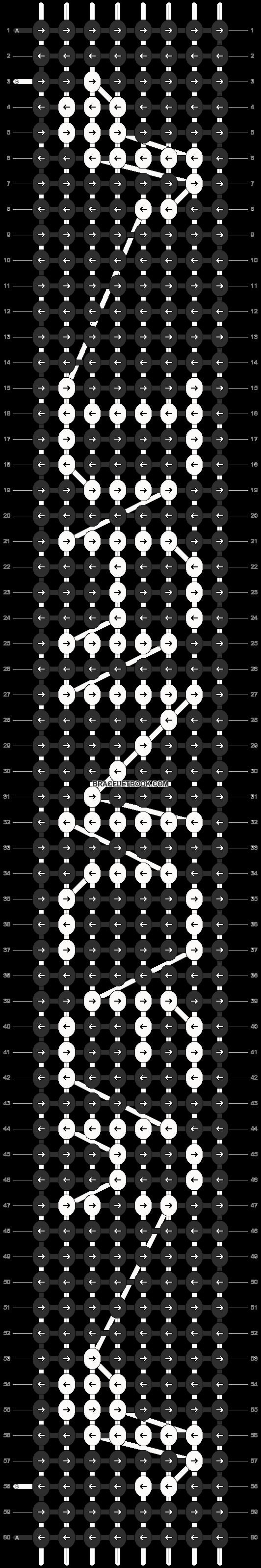 Alpha pattern #6572 pattern