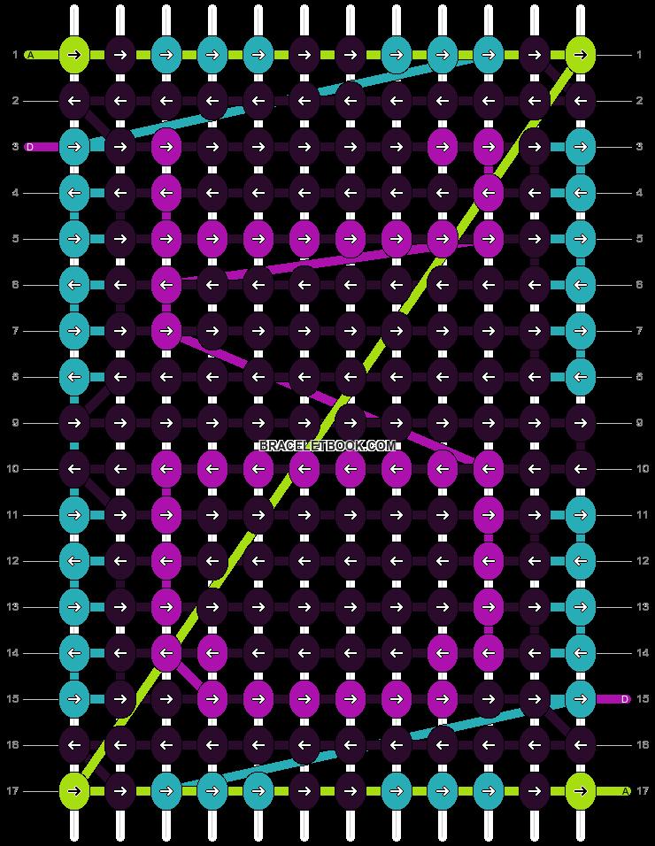 Alpha pattern #6573 pattern