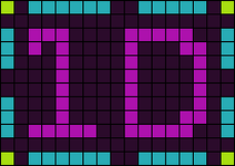 Alpha pattern #6573