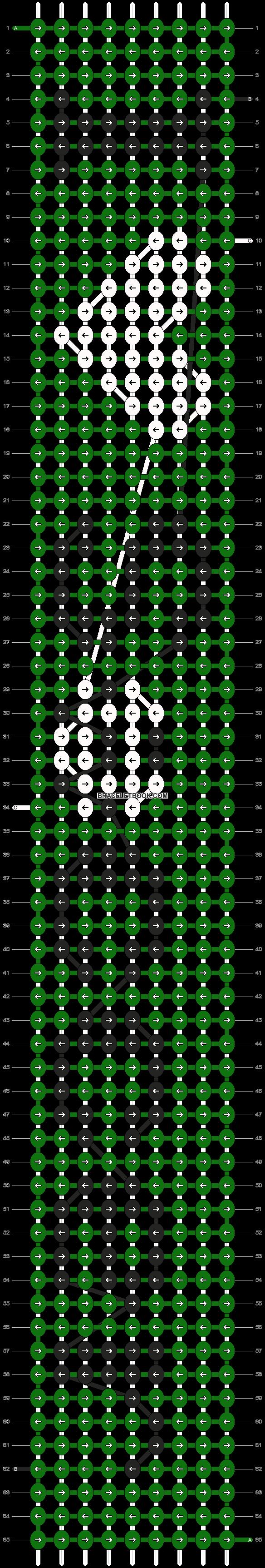 Alpha pattern #6575 pattern