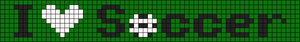 Alpha pattern #6575