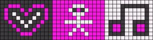 Alpha pattern #6576