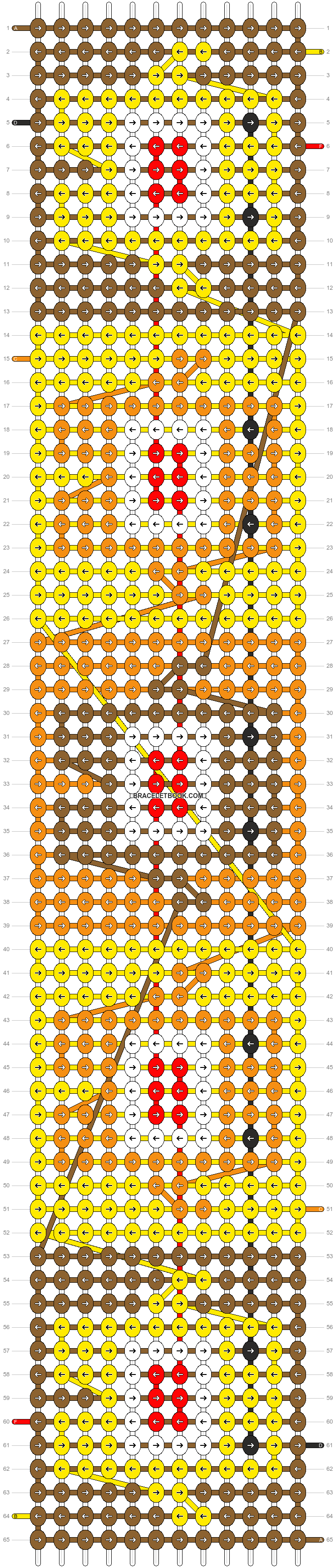 Alpha pattern #6577 pattern
