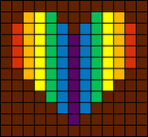 Alpha pattern #6580