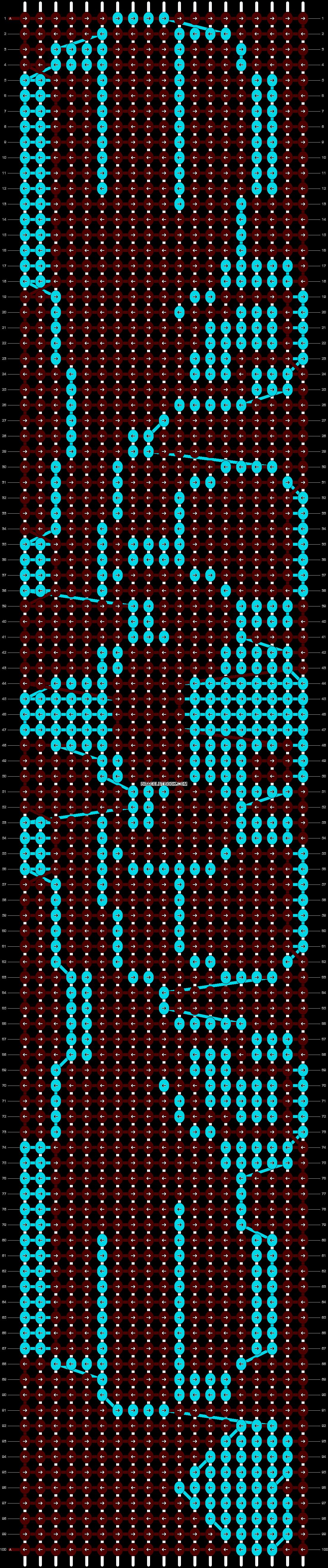 Alpha pattern #6581 pattern