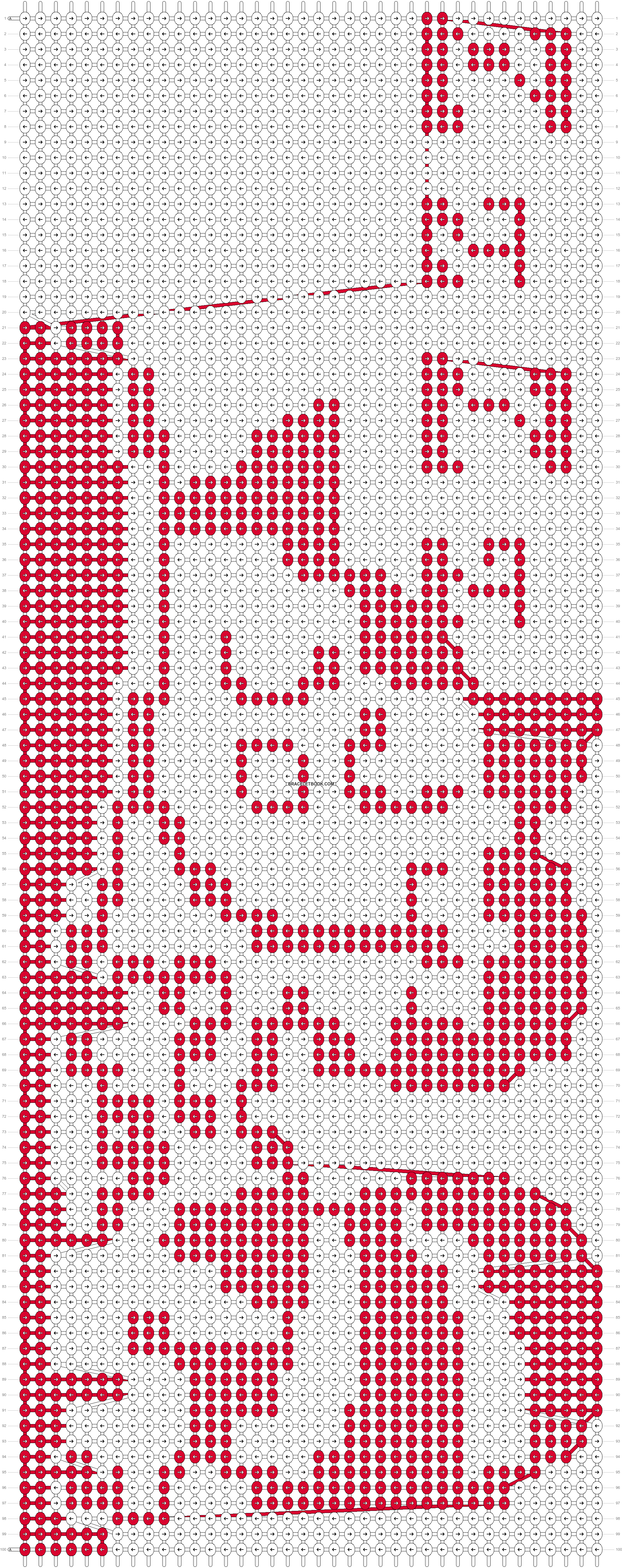 Alpha pattern #6583 pattern