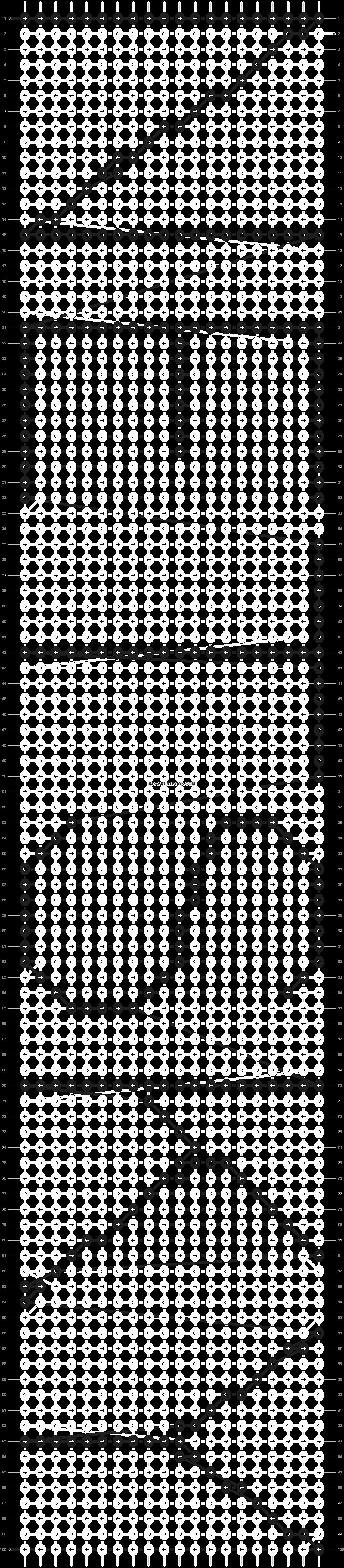 Alpha pattern #6585 pattern