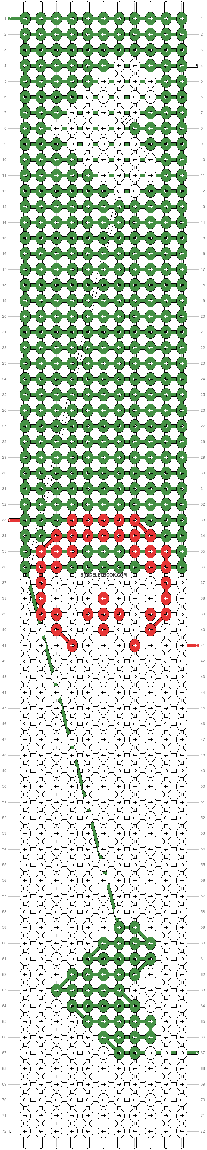 Alpha pattern #6586 pattern