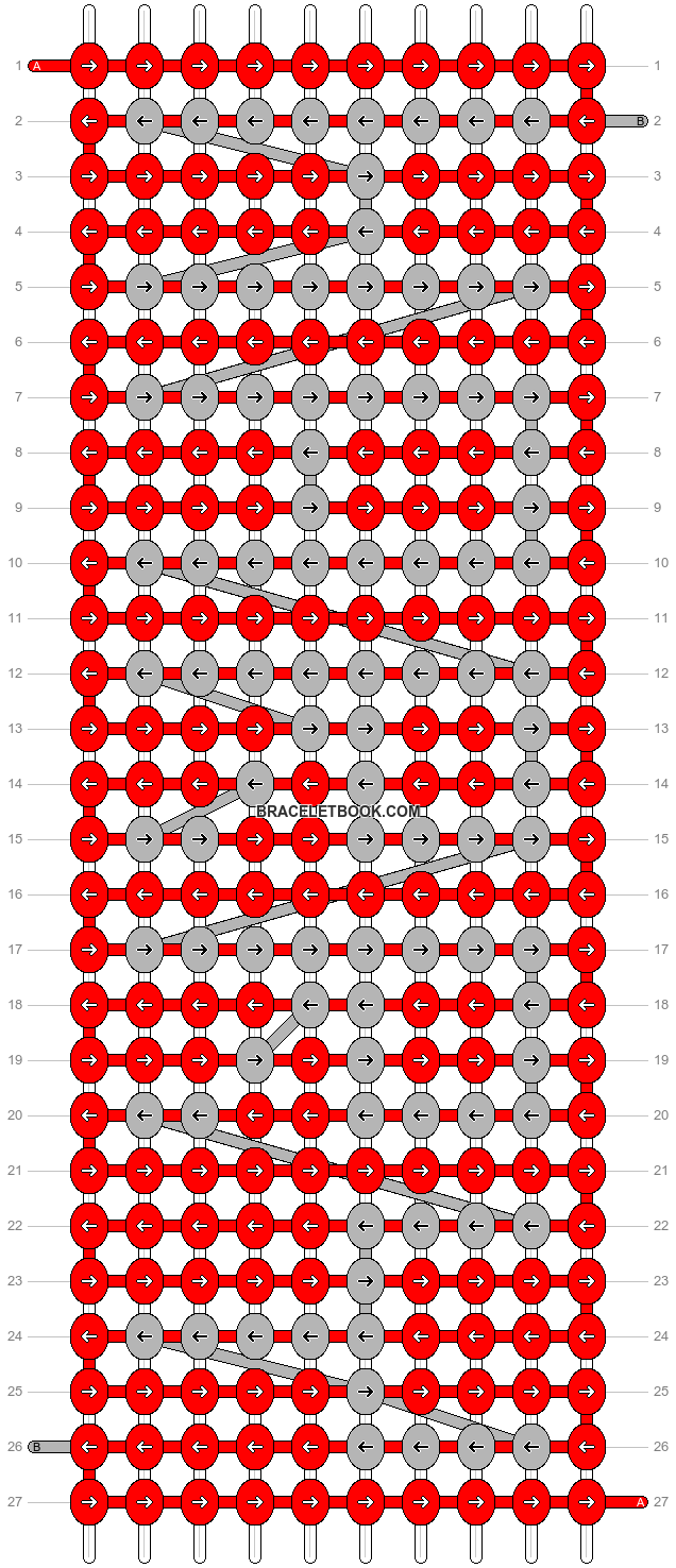 Alpha pattern #6588 pattern