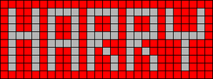 Alpha pattern #6588