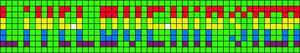 Alpha pattern #6590