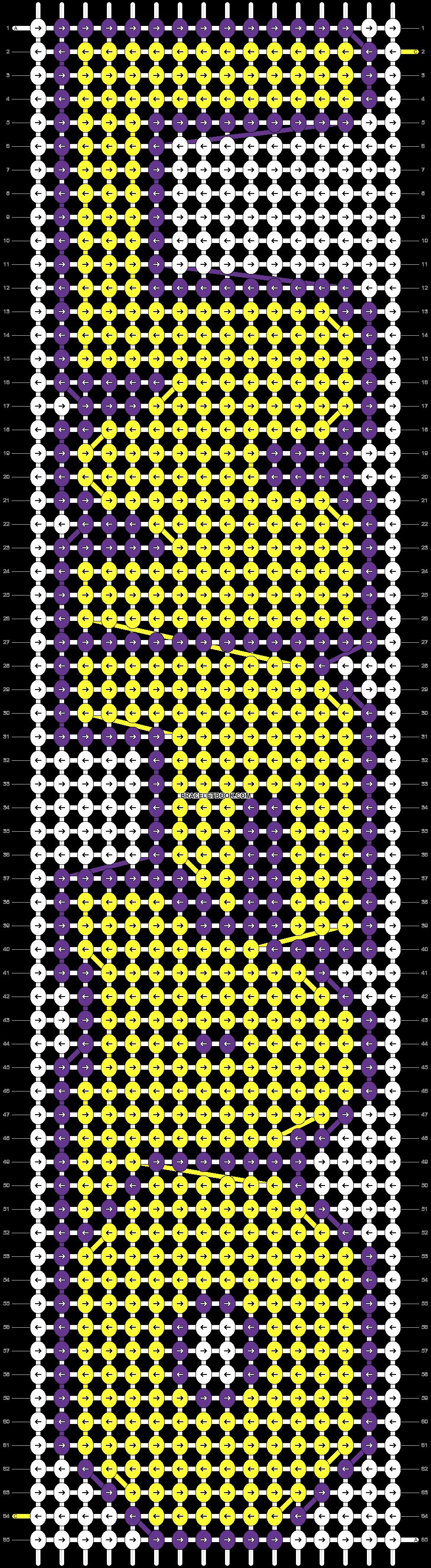 Alpha pattern #6592 pattern