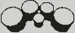 Alpha pattern #6595
