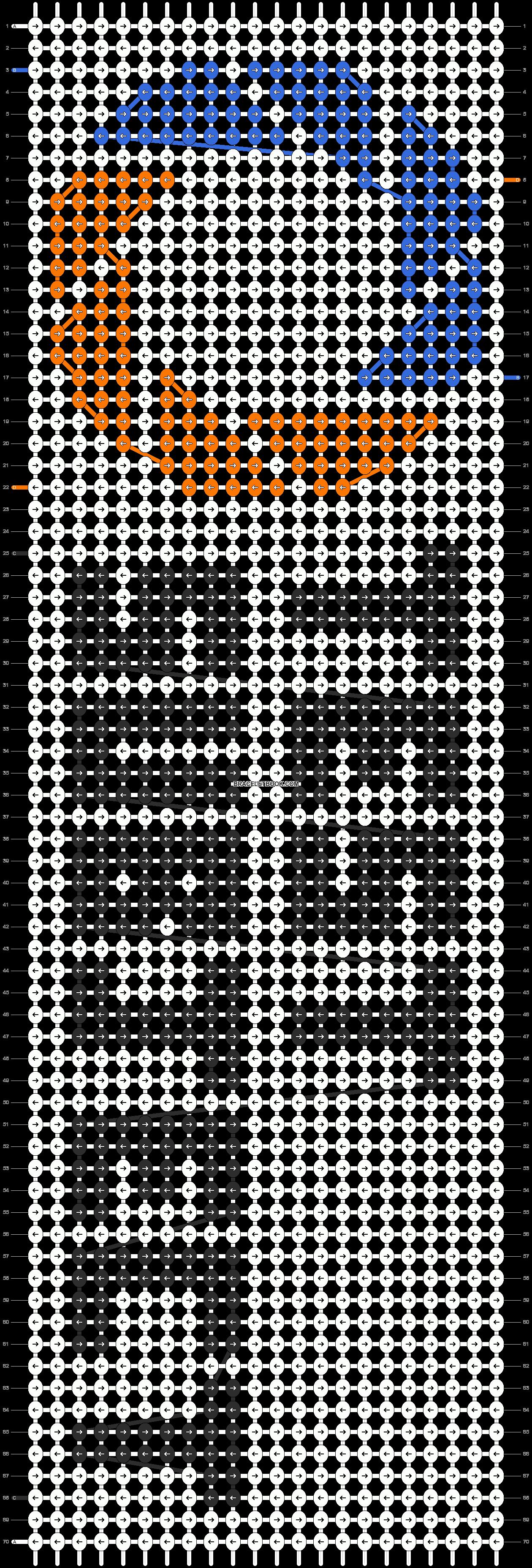 Alpha pattern #6599 pattern