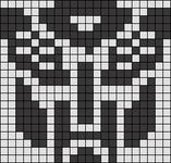 Alpha pattern #6605