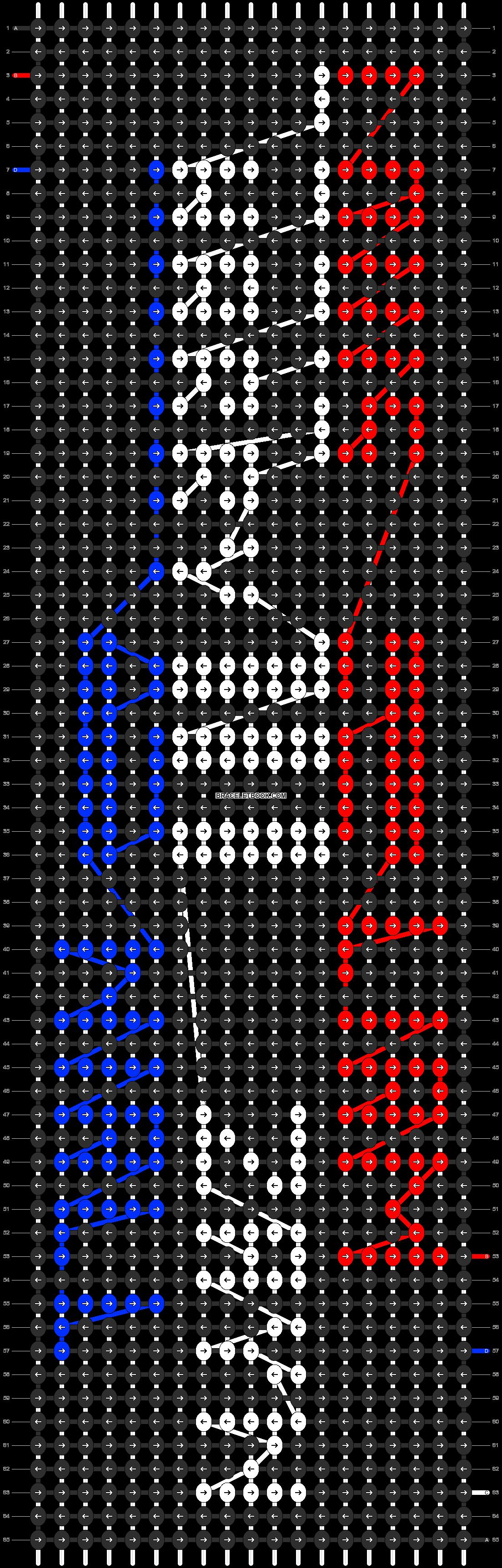 Alpha pattern #6611 pattern