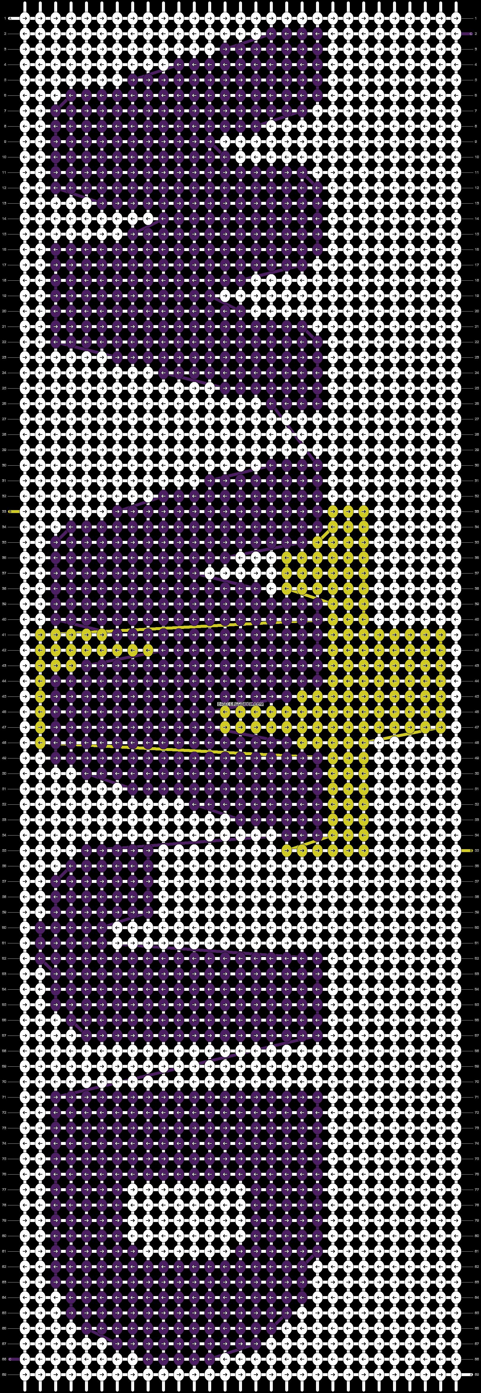 Alpha pattern #6613 pattern