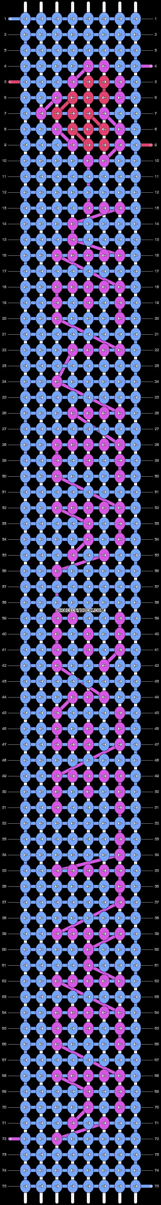 Alpha pattern #6614 pattern