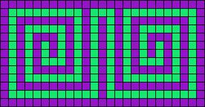 Alpha pattern #6616