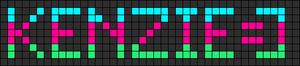 Alpha pattern #6619