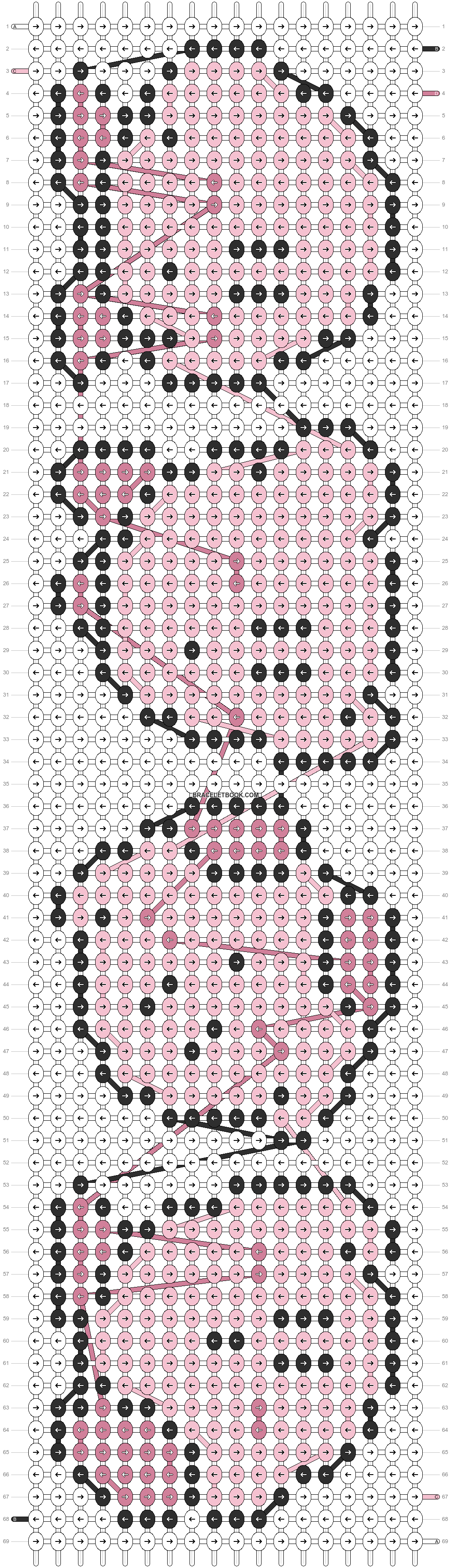 Alpha pattern #6632 pattern