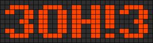 Alpha pattern #6645