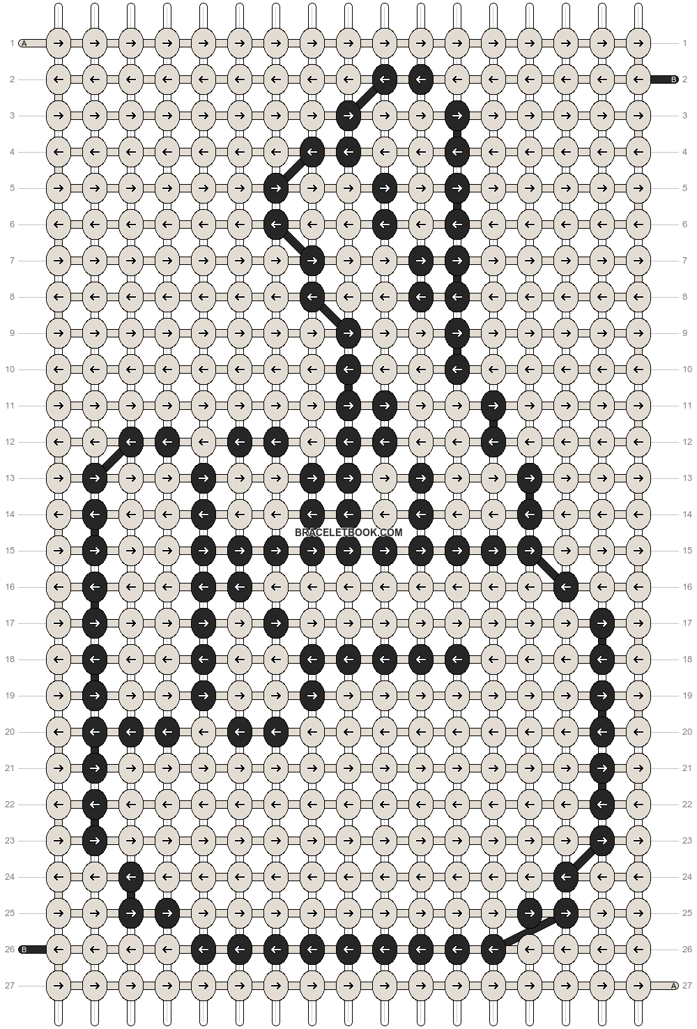 Alpha pattern #6646 pattern