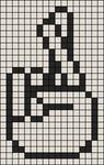 Alpha pattern #6646