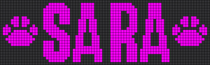 Alpha pattern #6659
