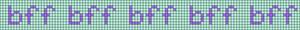 Alpha pattern #6660