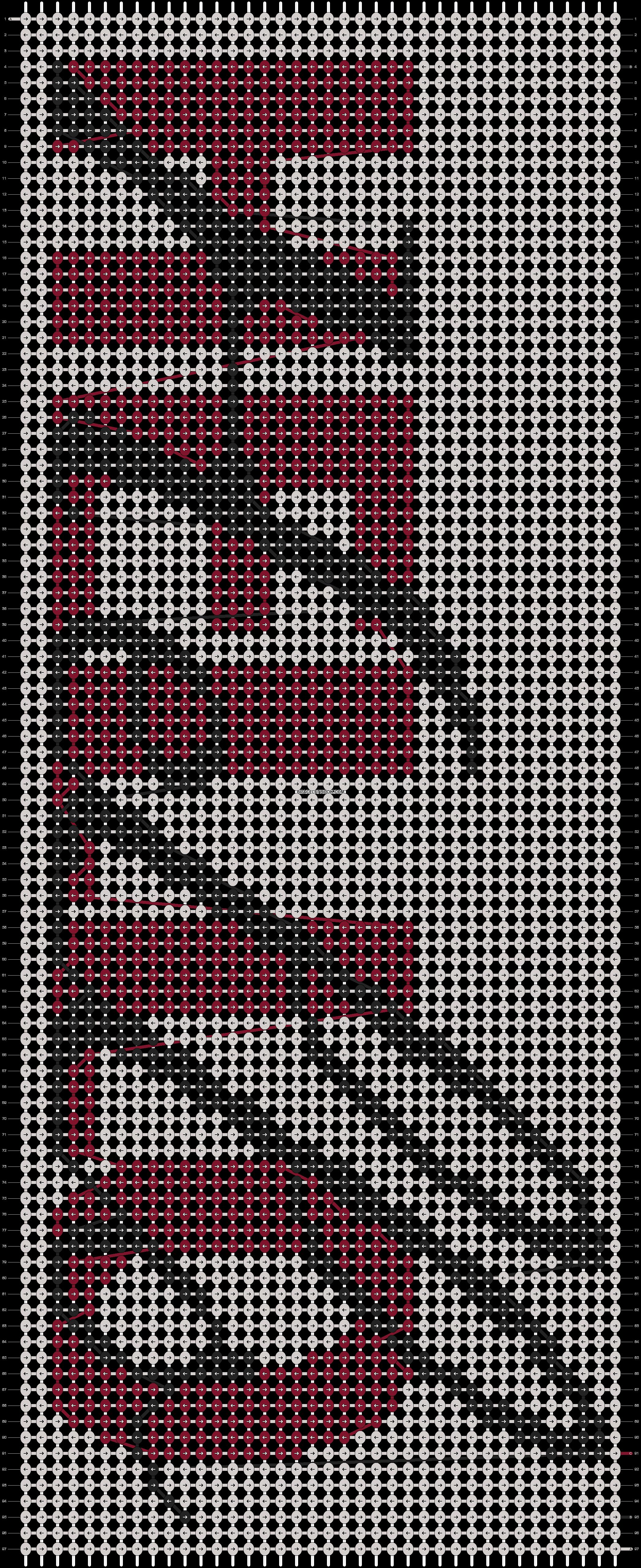 Alpha pattern #6661 pattern