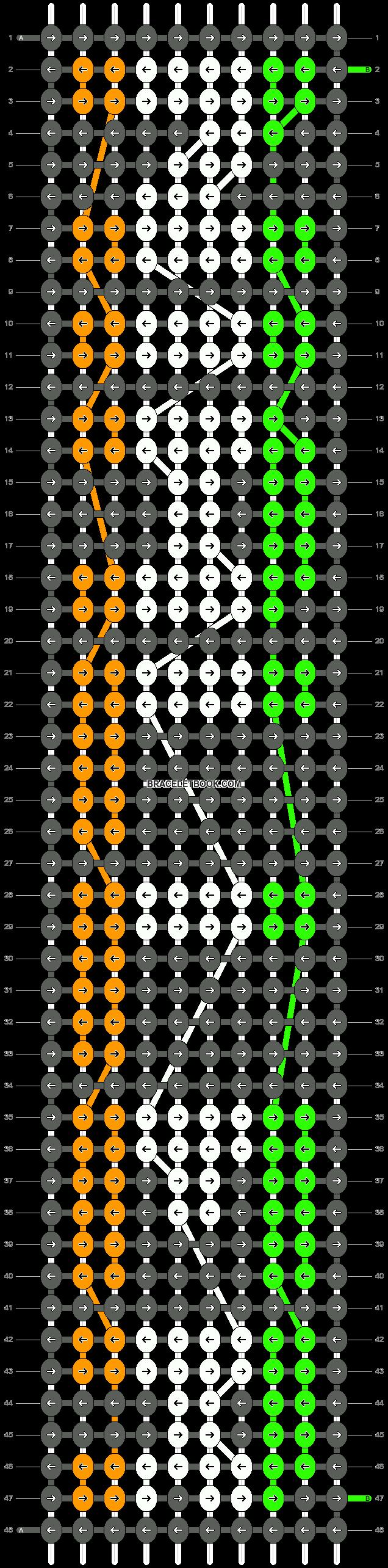 Alpha pattern #6662 pattern