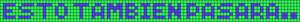 Alpha pattern #6673